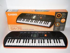 casio sa-76 review
