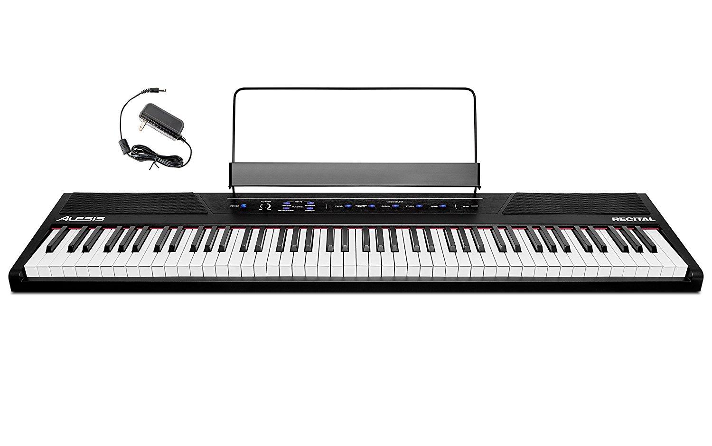 alesis recital 88 key beginner digital piano review best digital piano guide. Black Bedroom Furniture Sets. Home Design Ideas