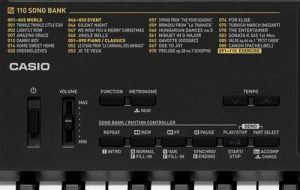 best piano keyboard for beginners Casio CTK-2400 61-Key Close Up