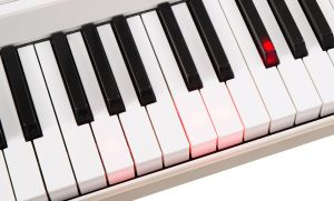 One Light the light up keyboard piano