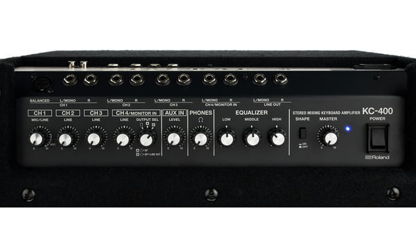 Best Keyboard Amp Is The KC-400 keyboard amplifier from Roland